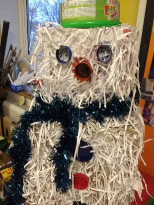 Prae Wood -Snow-man from packaging