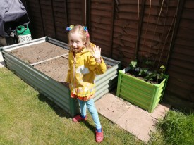 Lockdown competition - Bethany age 7 and garden