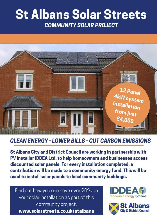 Solar Streets flyer