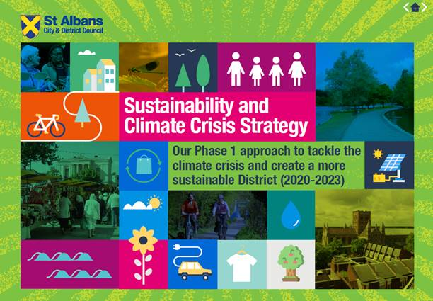 St Albans District Sustainability and Climate Crisis Strategy