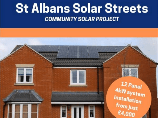 St Albans Solar Streets project,