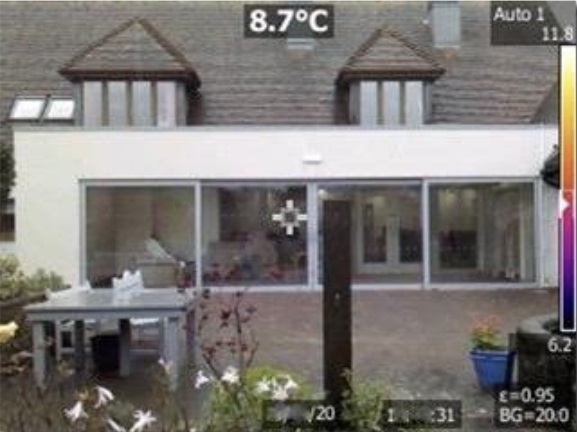 Grove House - double glazing