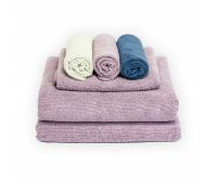 Norwex bath towel pack lavender with tranquil body cloths | SustainableSuburbia.net