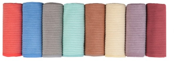 The Norwex kitchen cloths now come in 7 different colours.