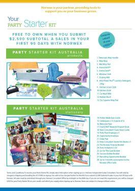 Norwex Party Starter joining Kit | SustainableSuburbia.net