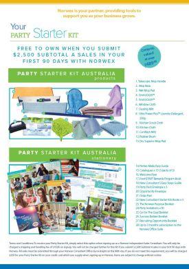 Norwex Party Starter joining Kit   SustainableSuburbia.net