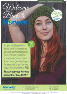 Reactivate your Norwex account for free
