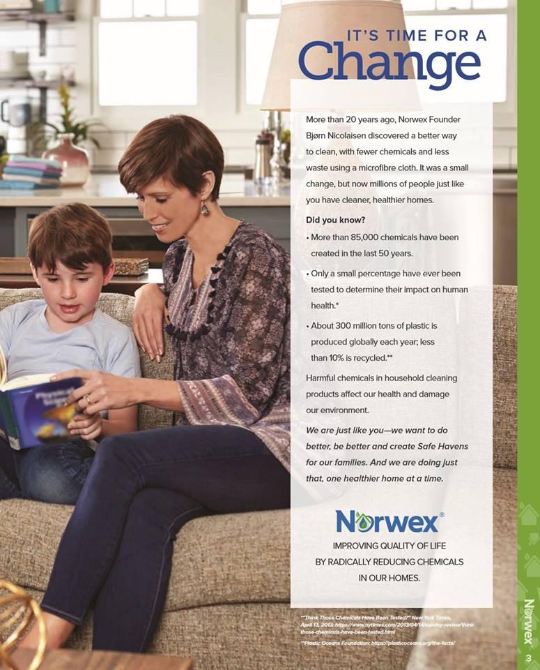 2018 Spring Norwex Catalogue (Australia)   Sustainable Suburbia