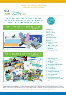 Norwex 2019 New Consultant Party Starter Kit, New Zealand | SustainableSuburbia.net