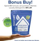 Norwex Laundry Detergent BonusBuy Feb 2019 - 30% off | SustainableSuburbia.net