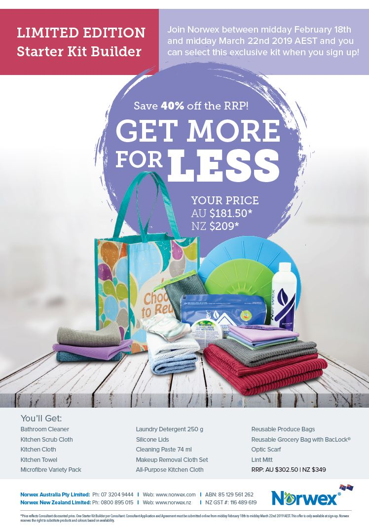 Join Norwex For Free In Australia And New Zealand