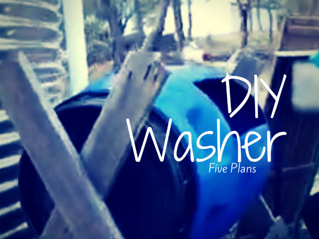 The Human-Powered DIY Washing Machine: 5 Plans
