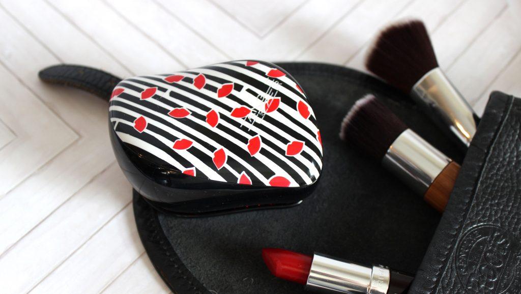 holiday handbag essentials with tangle teezer