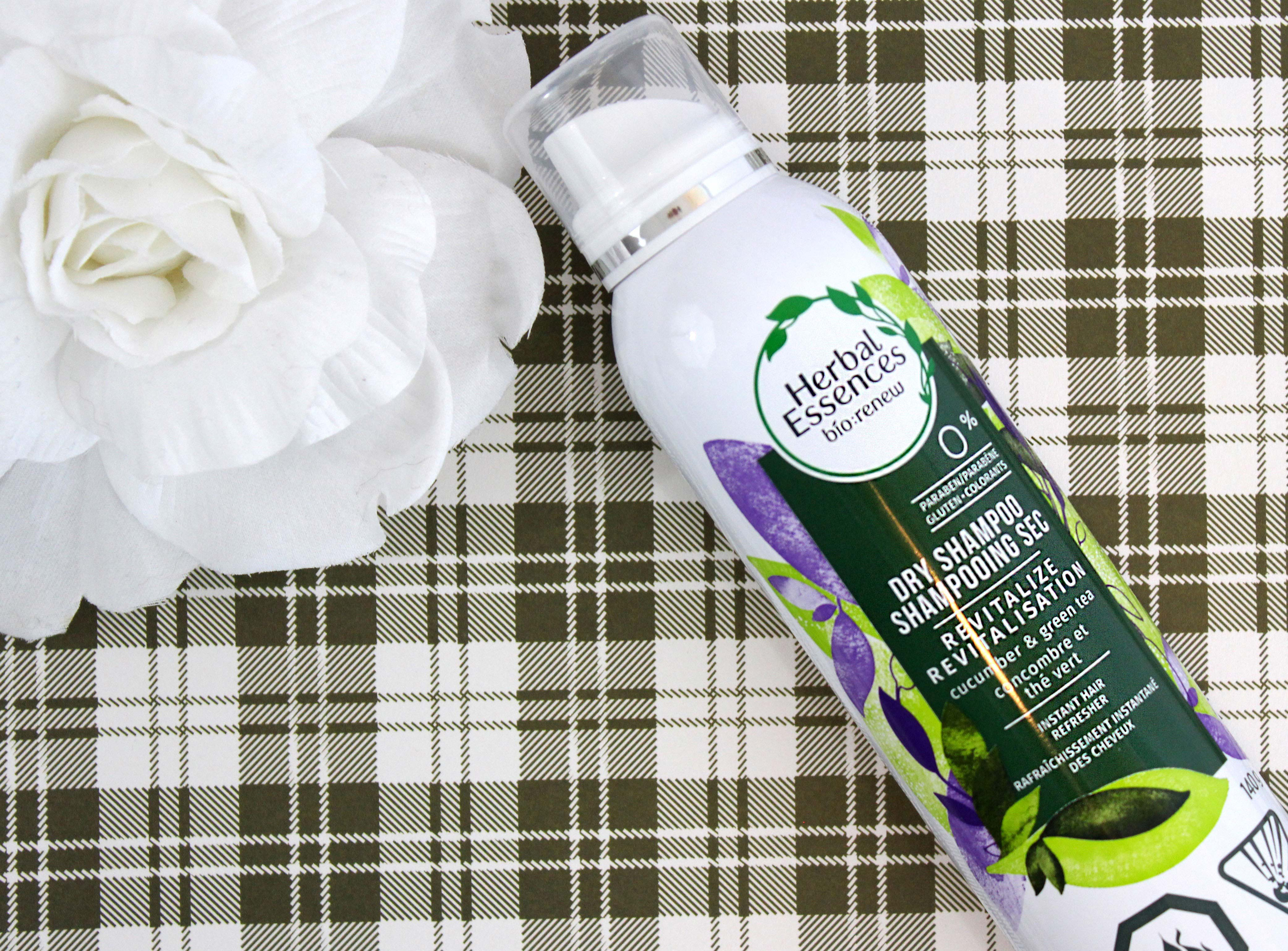 HERBAL ESSENCES BIO:RENEW DRY SHAMPOO CUCUMBER + GREEN TEA