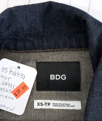 DENIM JACKET LABEL
