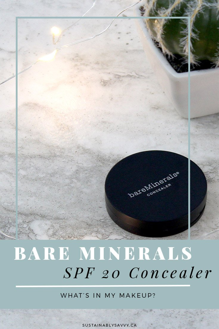 BareMinerals SPF 20 Correcting Concealer | What's in My Makeup?