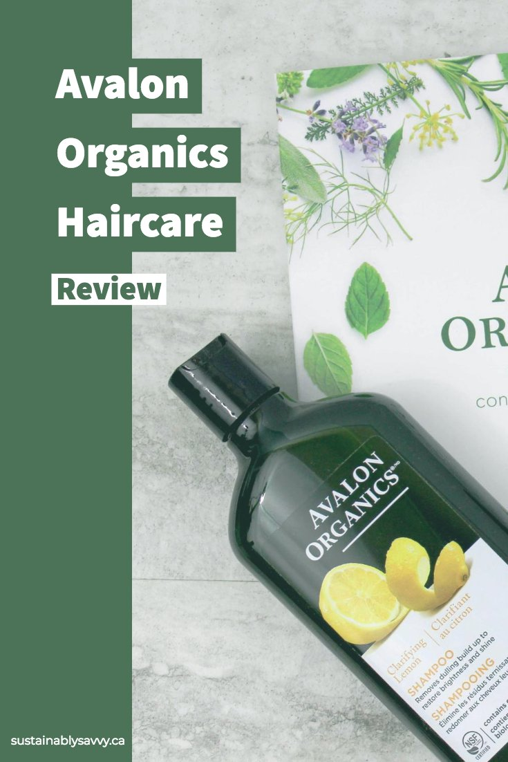 Avalon Organics Haircare Review