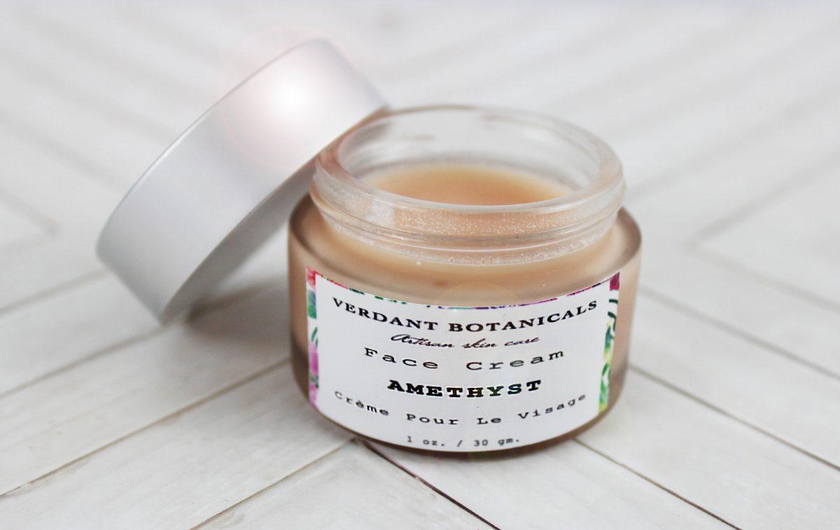 amethyst face cream verdant botanicals