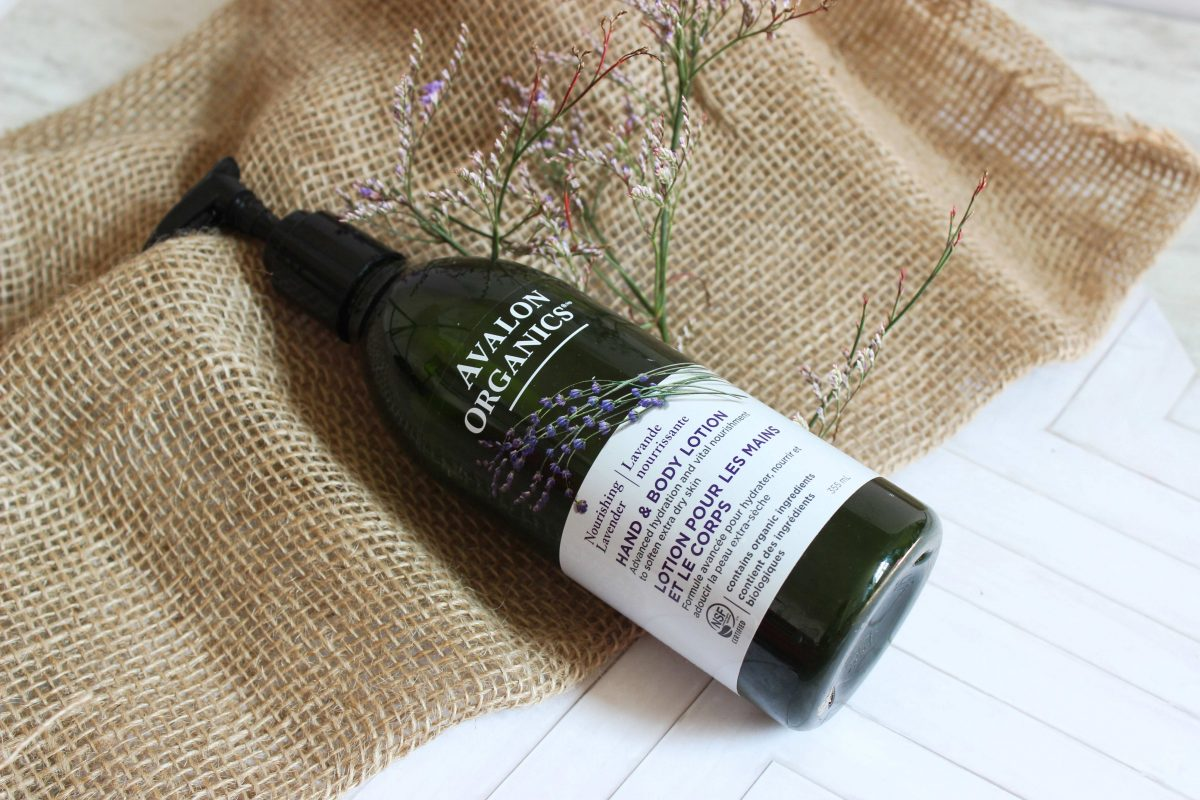 AVALON ORGANICS LAVENDER BODY LOTION