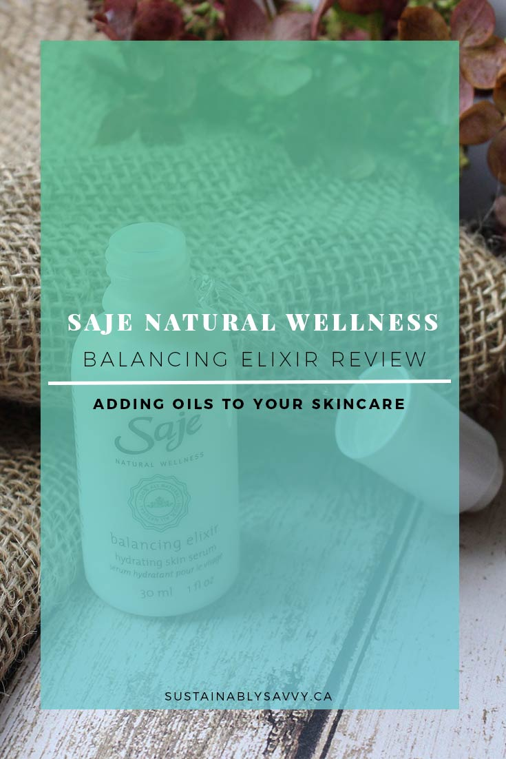 SAJE NATURAL WELLNESS BALANCING ELIXIR REVIEW PINTEREST