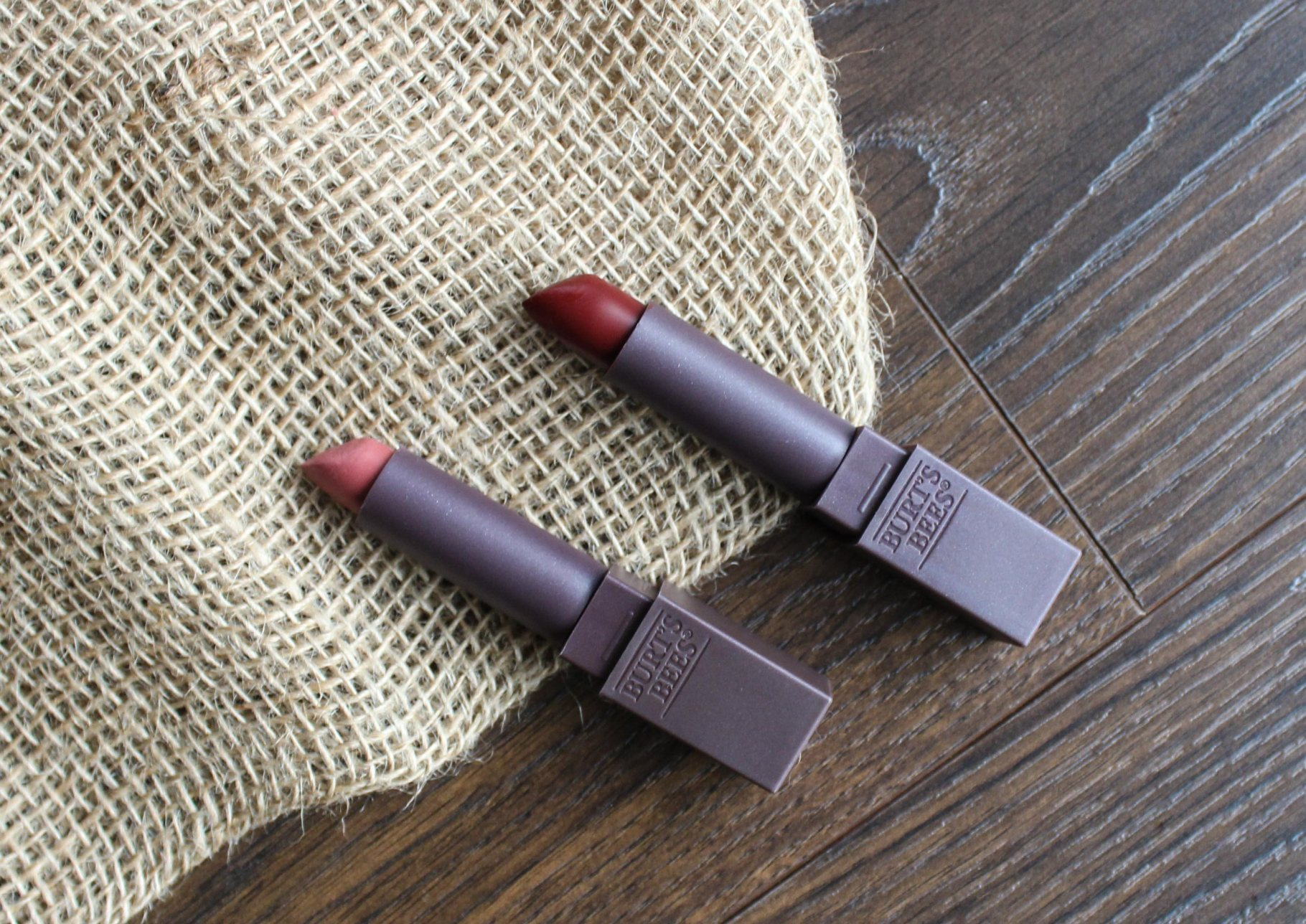 Burt's Bees Natural Lipstick Review