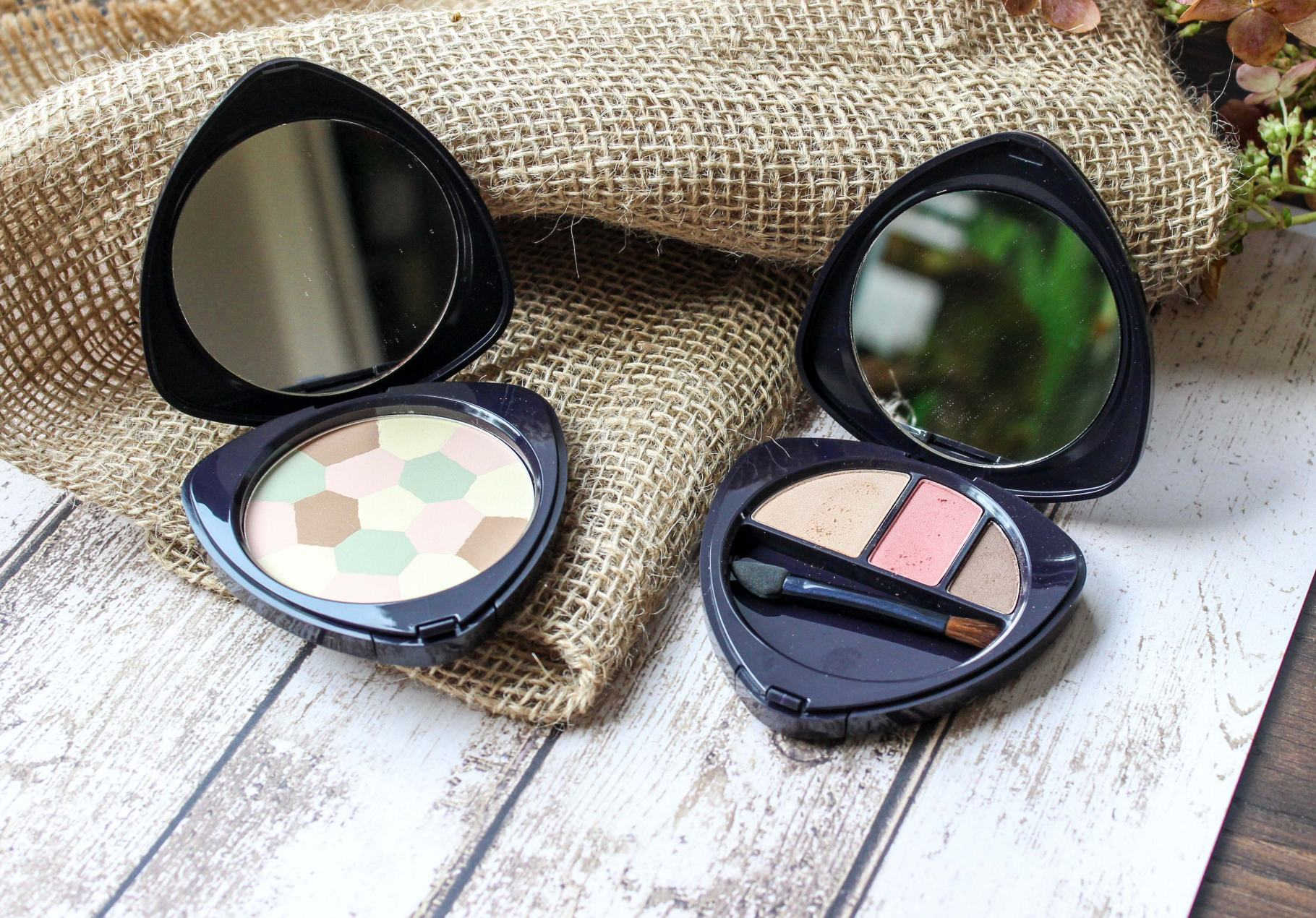 dr. hauschka eyeshadow and colour correcting powder