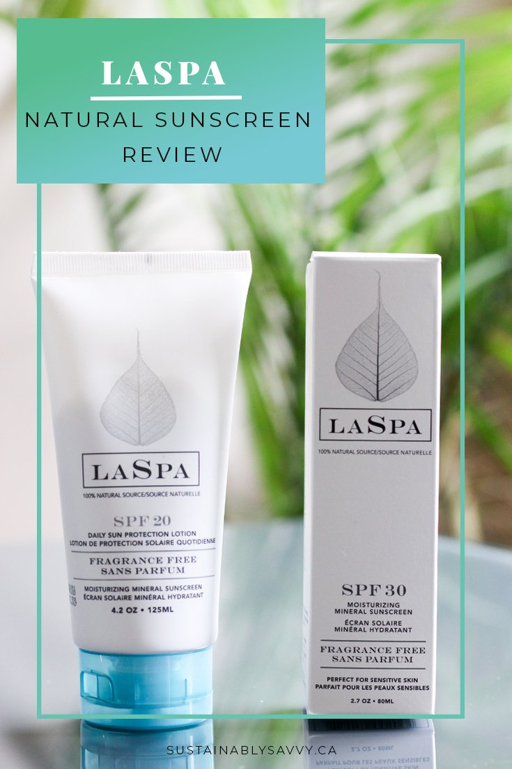 LASPA NATURAL MINERAL SUNSCREEN REVIEW