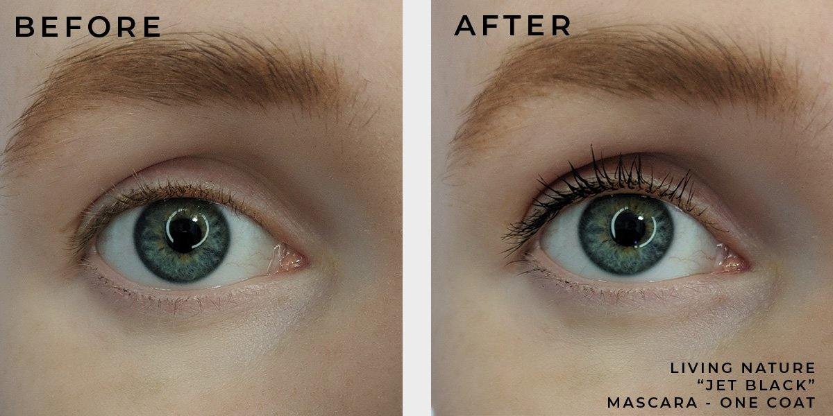 LIVING NATURE MASCARA SWATCHES