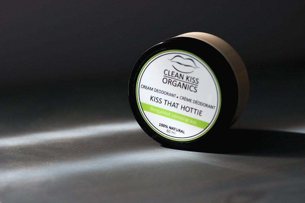 clean kiss organics natural deodorant title