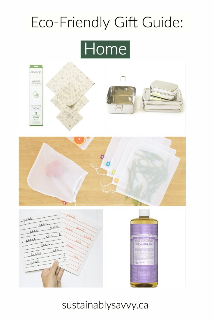 Eco Friendly Gift Guide For the Home