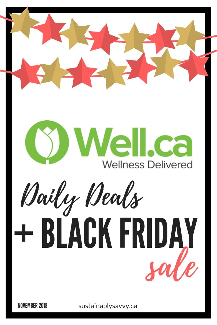 well.ca daily deals and black friday sale