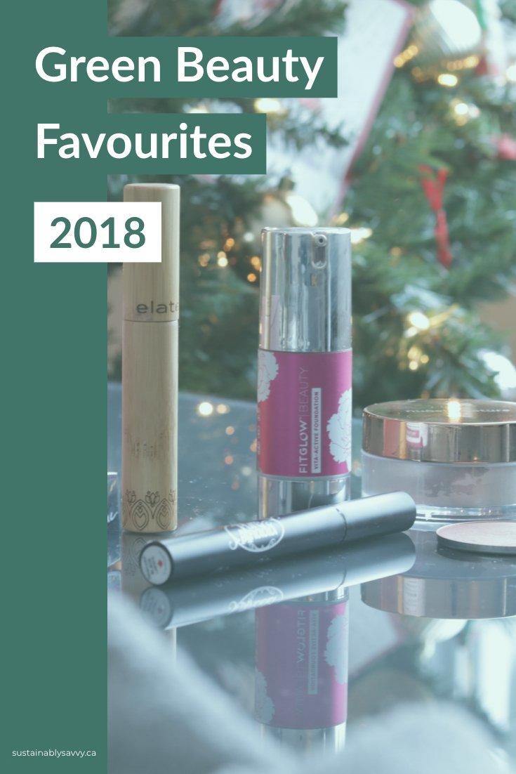 Green beauty Favourites 2018