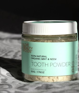 love beauty foods toothpowder title