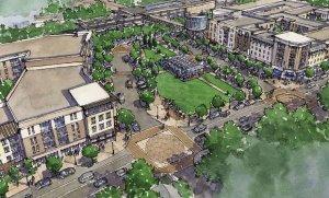 Proposed Development at Candler Park MARTA via Atlanta Magazine