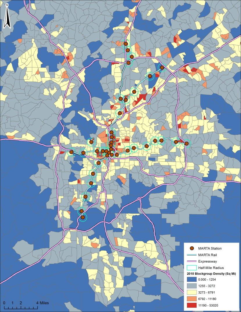 Atlanta Density Map