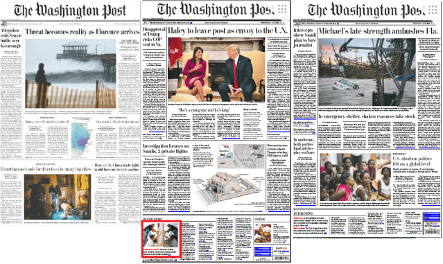 Washington Post News Clippings