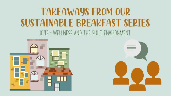 Takeaways: October 2020 Sustainable Breakfast Series