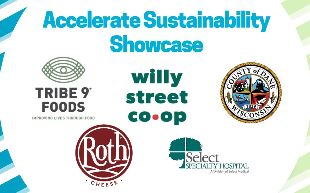 Accelerate Sustainability Showcase