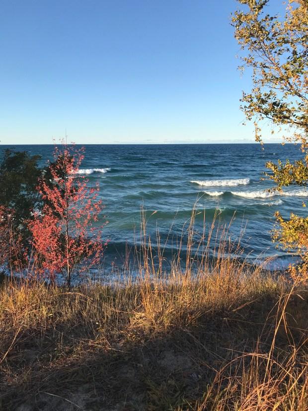 Lake Superior at Au Sable Lighthouse
