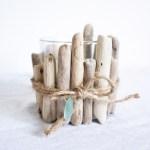 Easy Upcycled Driftwood Candle Holder Sustain My Craft Habit