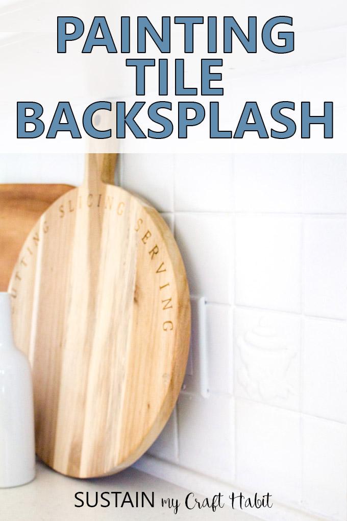 painting tile backsplash bye bye ugly