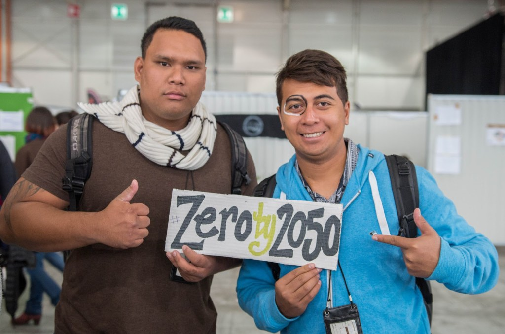 The call for an agreement on zero carbon emissions by 2050