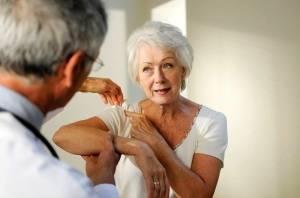 leziuni vasculare cu luxația articulației umărului)