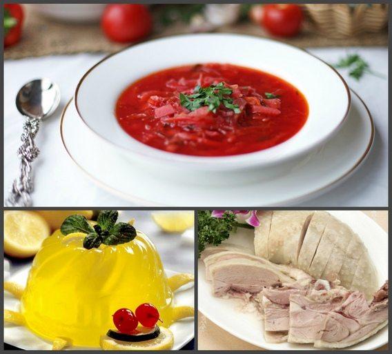 ظروف در رژیم غذایی №6