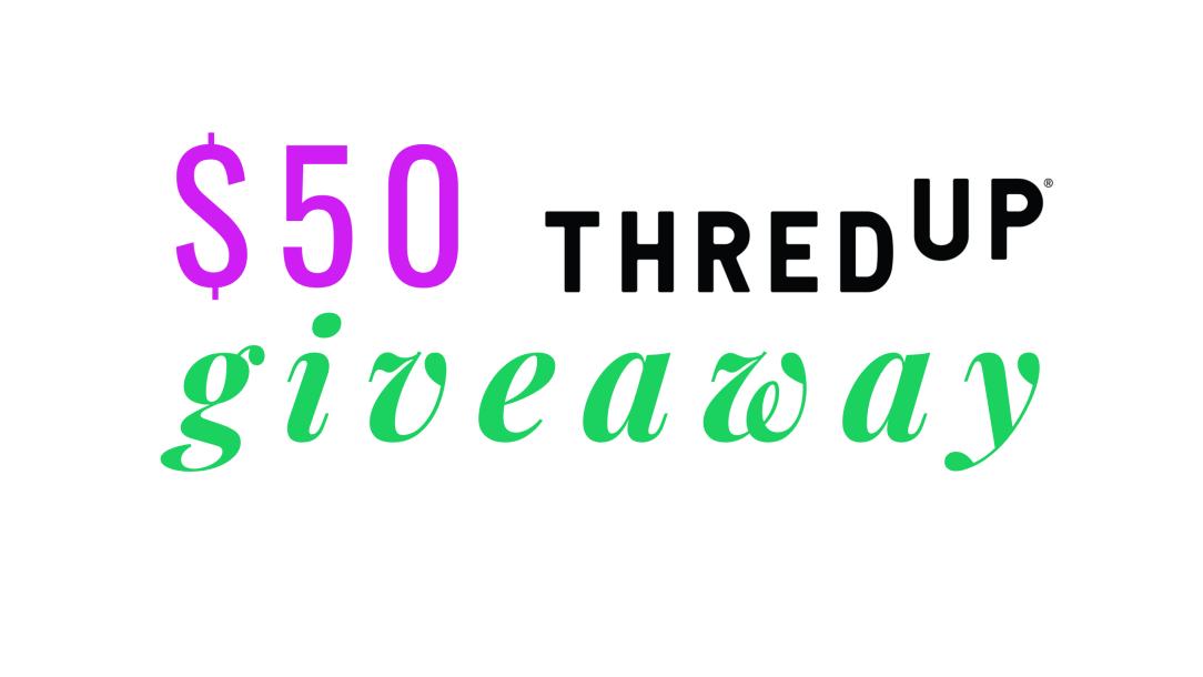 thredup giveaway $50