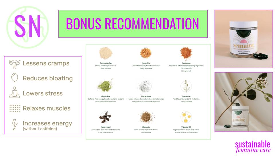 semaine health ingredients