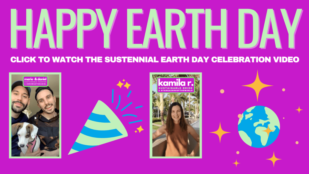 click to watch sustennial earth day celebration video