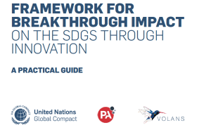 Framework for Breakthrough Impact on the SDGs Through Innovation