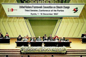 photo of Climate change negotiations in Kyoto