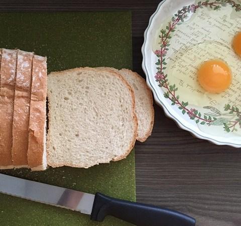 Eggy Bread | Sarah Irving Susty Meals